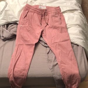 Fairplay pink joggers